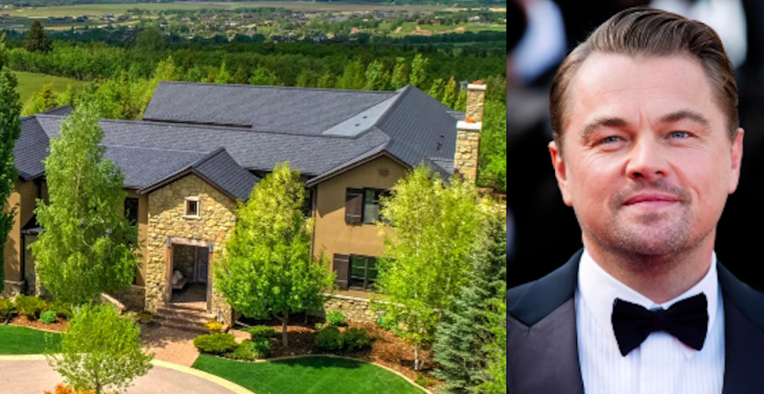 Alberta mansion Leonardo DiCaprio called home is going up for auction (PHOTOS)