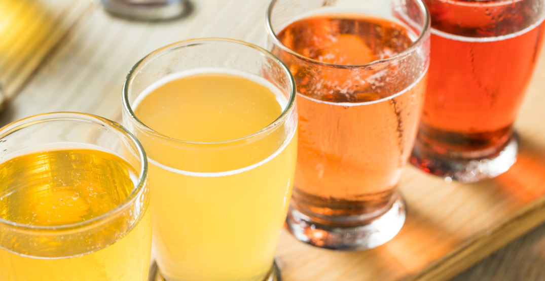 Enjoy a cider tasting from the comfort of your living room