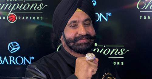 Toronto Raptors Superfan Nav Bhatia returns award from Canada India Foundation | Offside