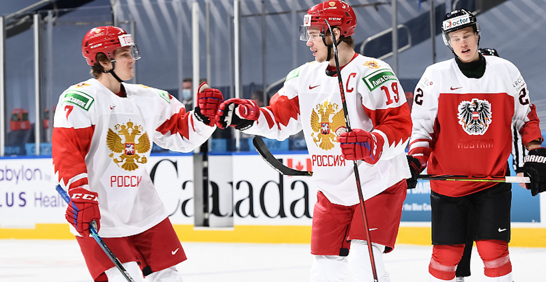 Canucks prospect Podkolzin has huge night for Russia at World Juniors
