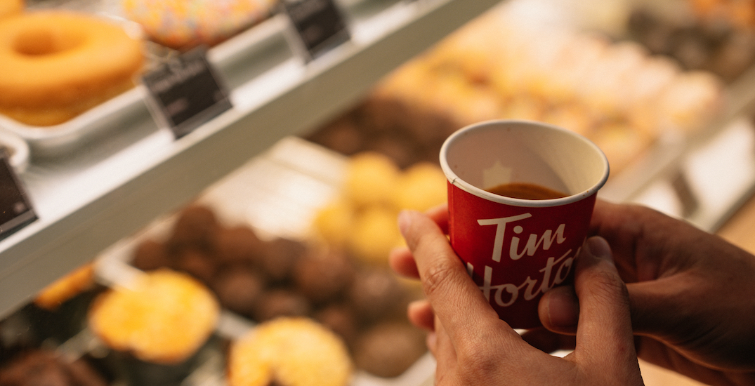Tim Hortons reveals top donut and coffee orders in 2020