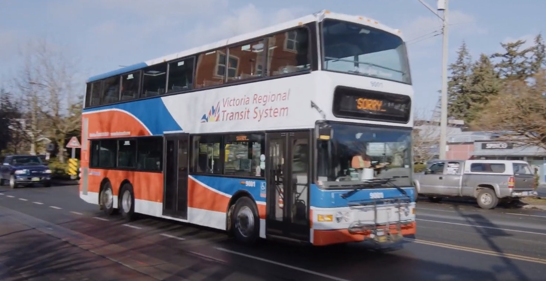 BC Transit retiring North America's first double-decker transit buses after 20 years