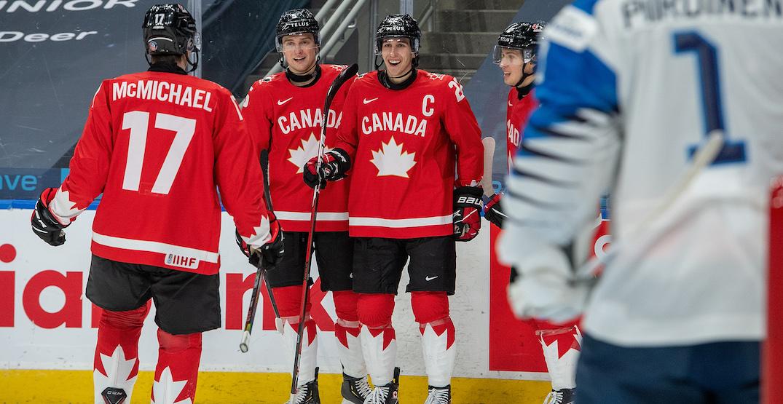 Canada dominates Finland, will play Czech Republic in quarter-finals