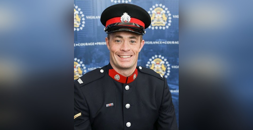 Calgary police officer killed during New Year's Eve traffic stop