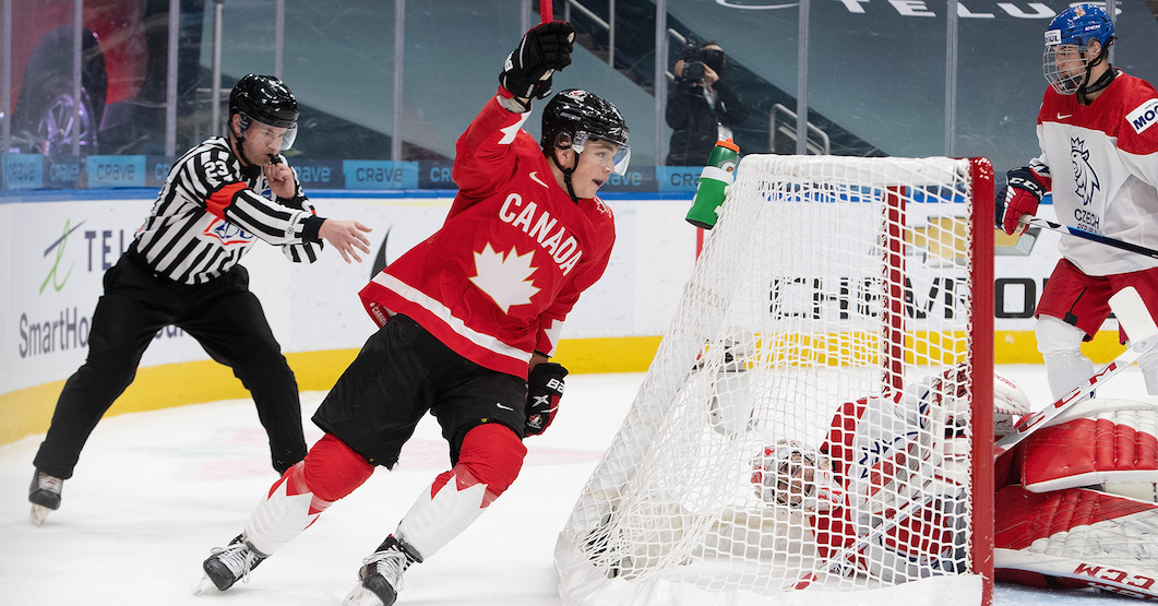 Canada off to World Juniors semi-final after win over Czechs