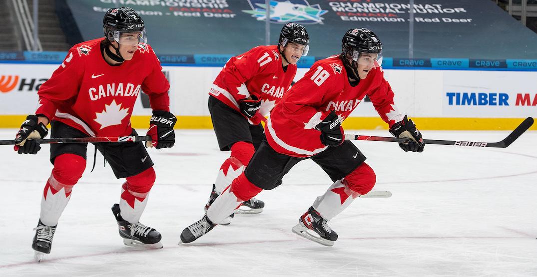 Canada plays Russia in the World Junior semi-final today