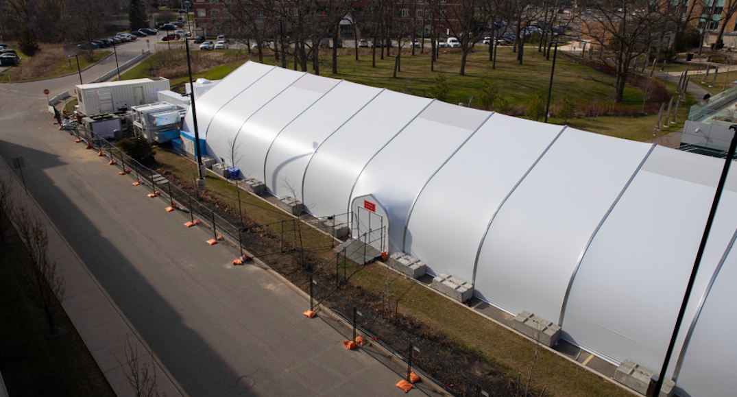 First Ontario COVID-19 field hospital opens for patients this week