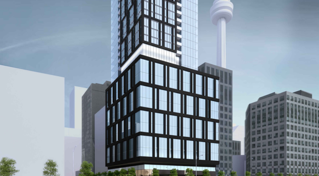 Large condo proposed to replace recently closed restaurant in downtown Toronto