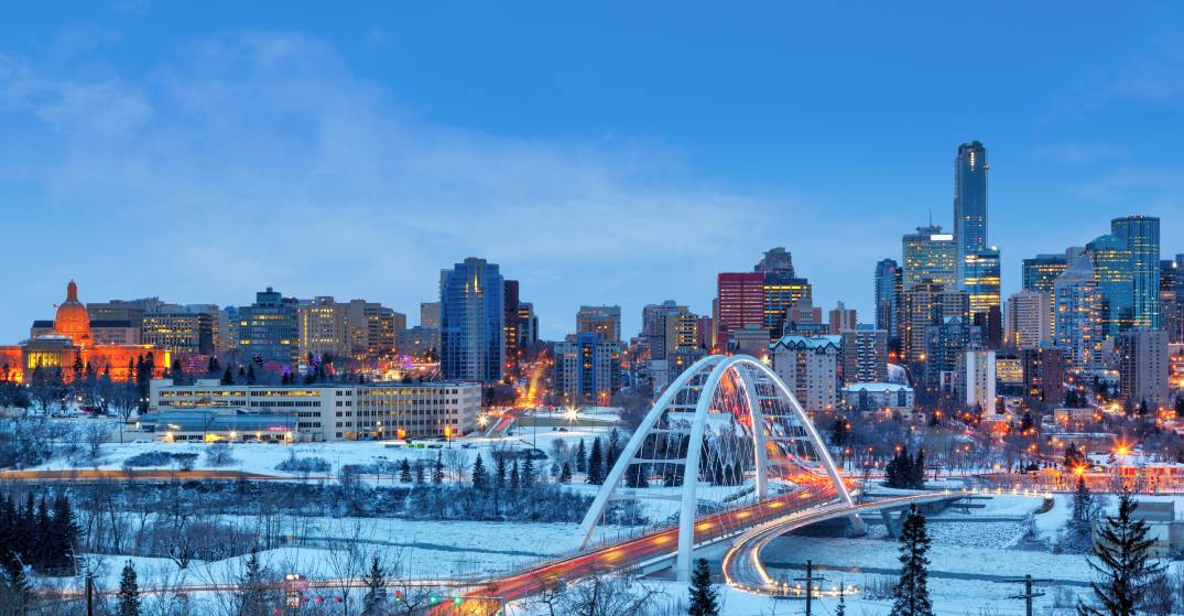 It's going to feel like -33°C in Edmonton this weekend