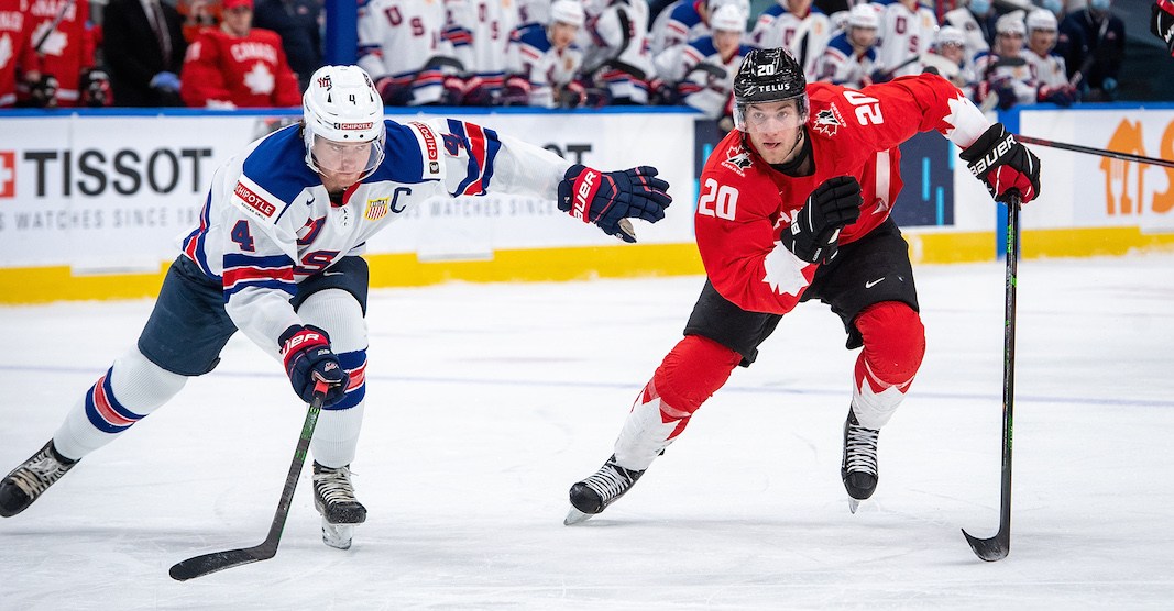 USA pulls off shocking upset over Canada in World Junior gold medal game