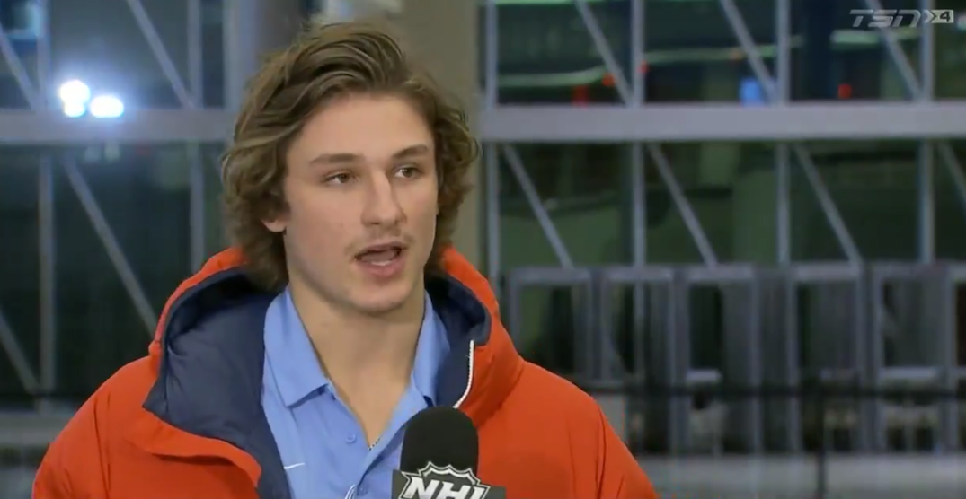USA's Zegras predicted outcome of gold medal game vs Canada (VIDEO)