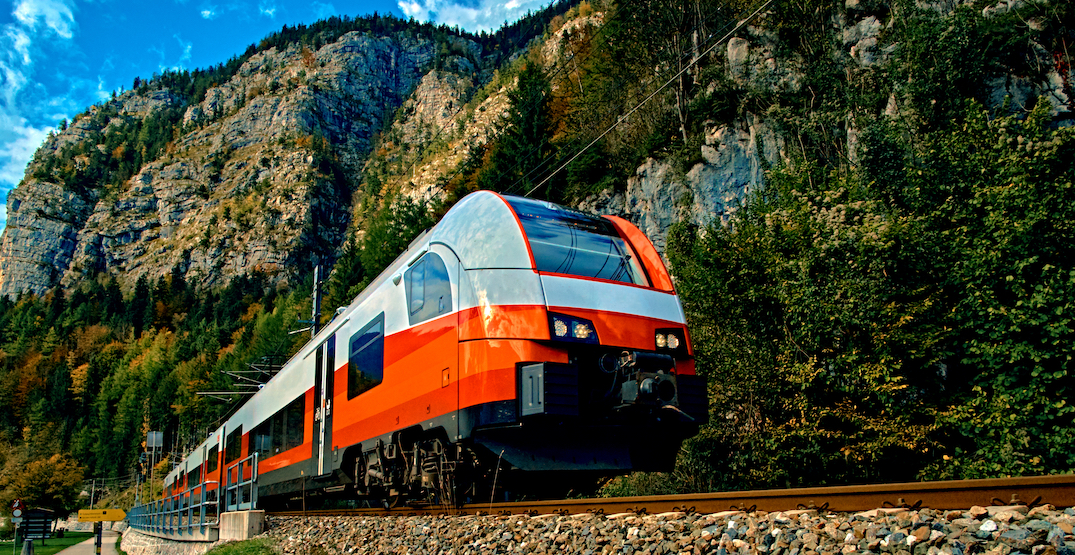 Potential routes for Chilliwack-Vancouver-Whistler high-speed rail: UBC study