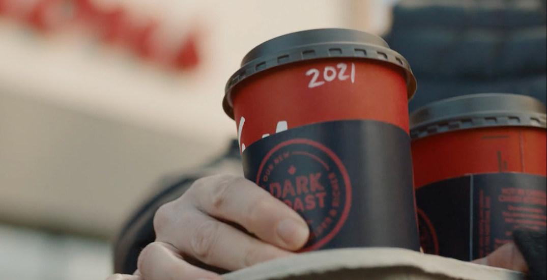Tim Hortons is re-re-launching its Dark Roast