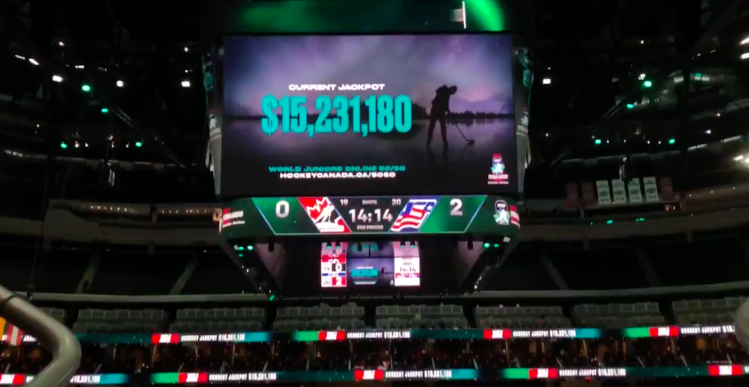 Record-breaking 50/50 jackpot exceeds $17 million at World Juniors