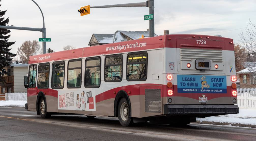 Witnesses sought after woman run over while attempting to stop Calgary transit bus