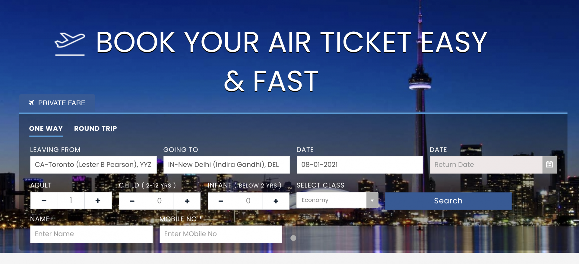 Toronto Police issue Public Safety Alert following suspected fraudulent travel website