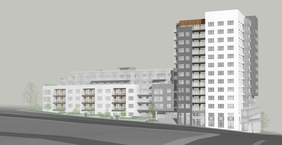 175 rental homes in 12-storey tower proposed near SkyTrain's Renfrew Station