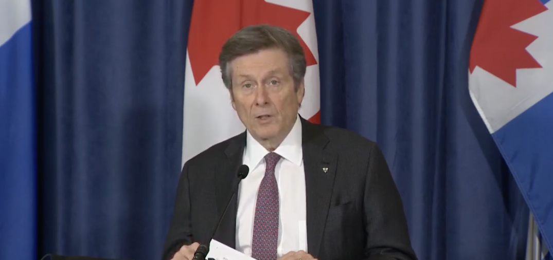 Tory says he won't rule out a curfew for Toronto as COVID-19 cases continue to surge