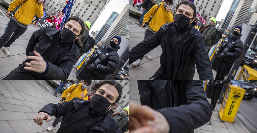 CBC journalist attacked while covering pro-Trump rally in Vancouver