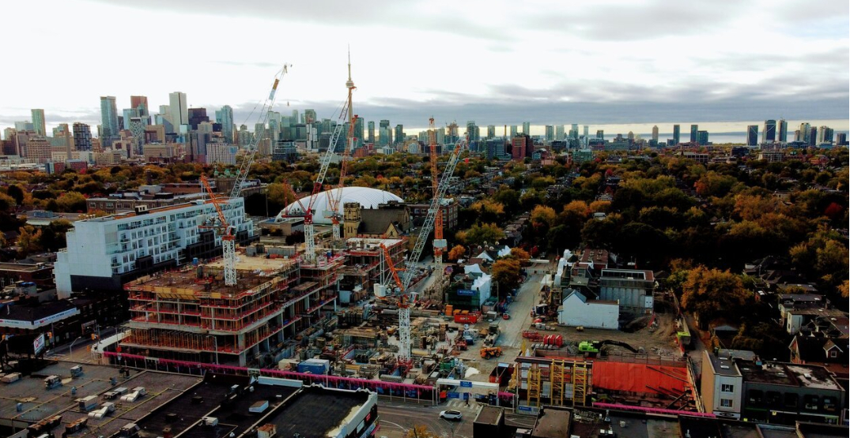 Development at former Honest Ed's location beginning to take shape (PHOTOS)