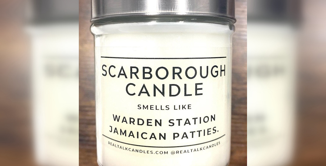 "There's a ""Scarborough Candle"" that smells like Warden Station Jamaican patties"