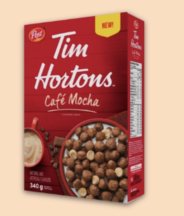 tim hortons cafe mocha cereal