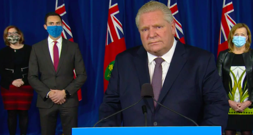 Ford to make announcement on extending Stay at Home orders for Toronto
