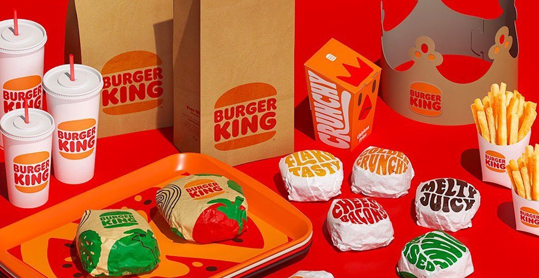 Burger King unveils new logo for the first time in 20 years