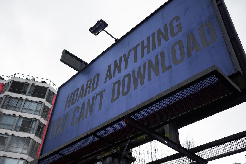 mckinley studios douglas copeland arbutus greenway slogans of the 21st century