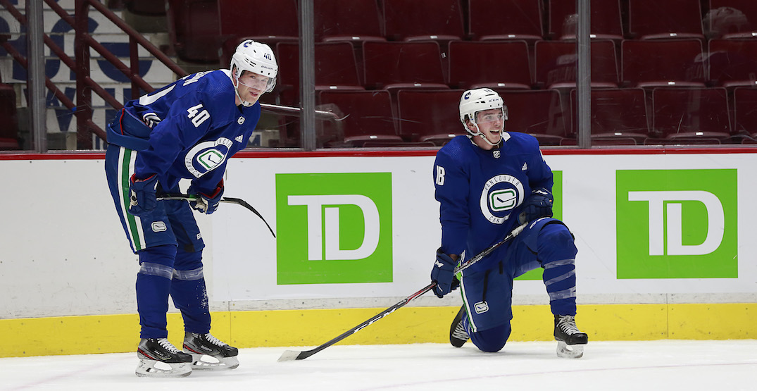 Canucks to return to the ice Monday after Sunday's COVID-19 scare