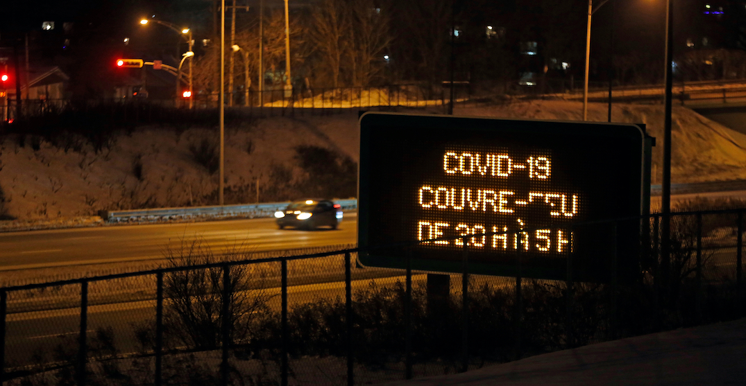 COVID-19 nightly curfew in Montreal and Laval reverted to 8 pm