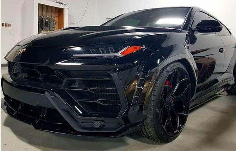 Stolen Lamborghini