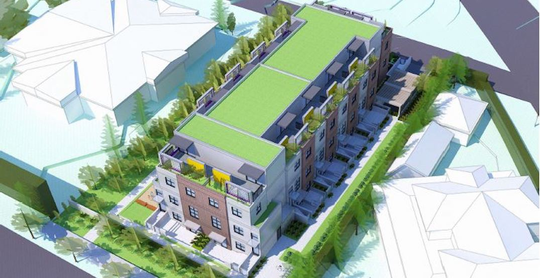 Revised rental housing proposal for controversial Shaughnessy site next to hospice