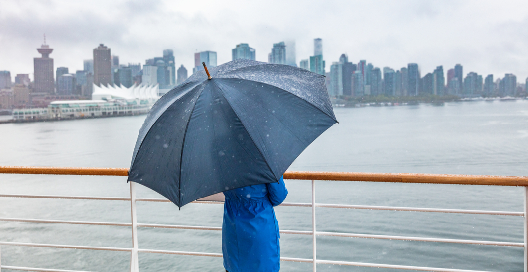 It's raining in Vancouver for the first time in 46 days
