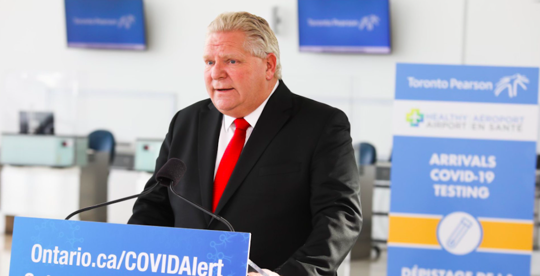 Ford says announcement on reopening Ontario's economy coming next week
