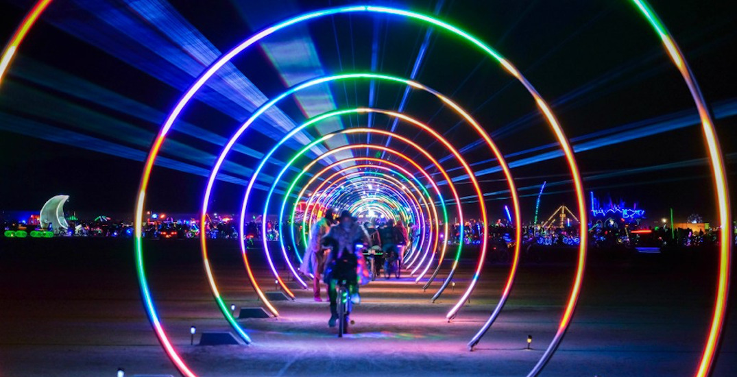 Toronto's waterfront is getting a 100 metre long hallway of lights