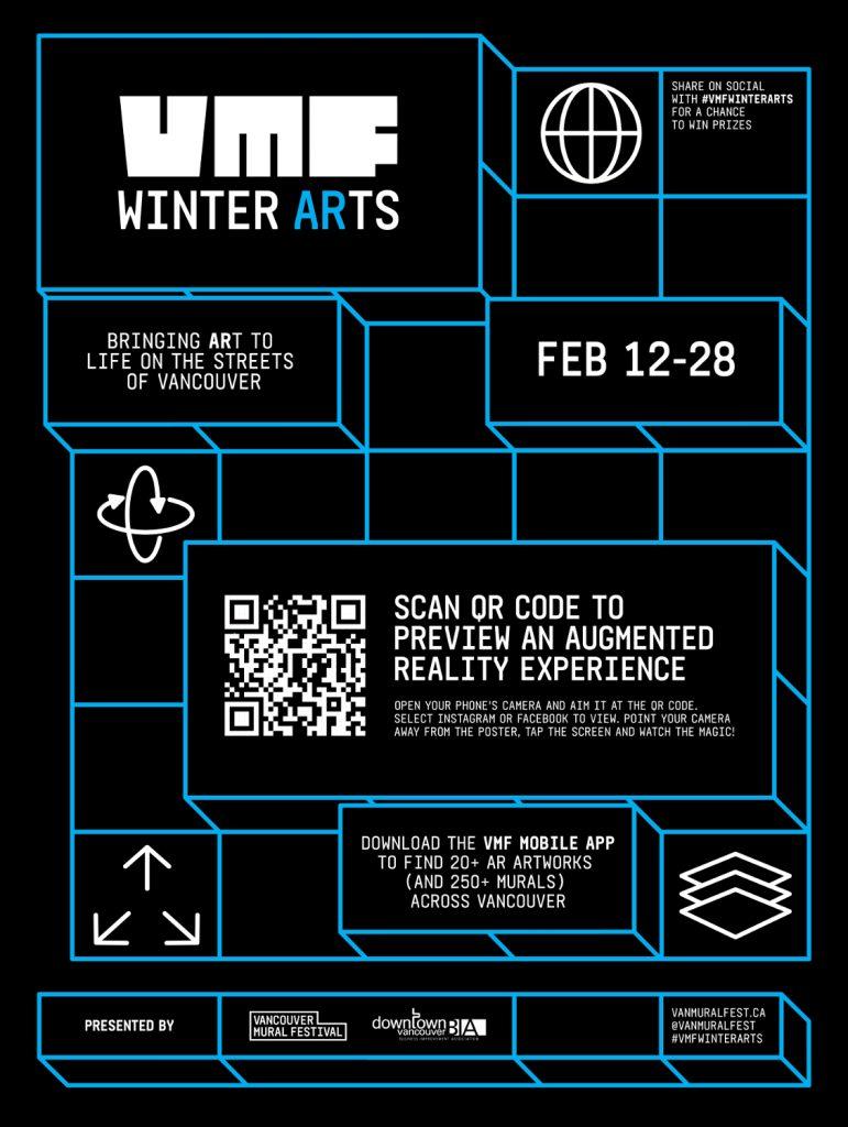 VMF Winter Arts Poster
