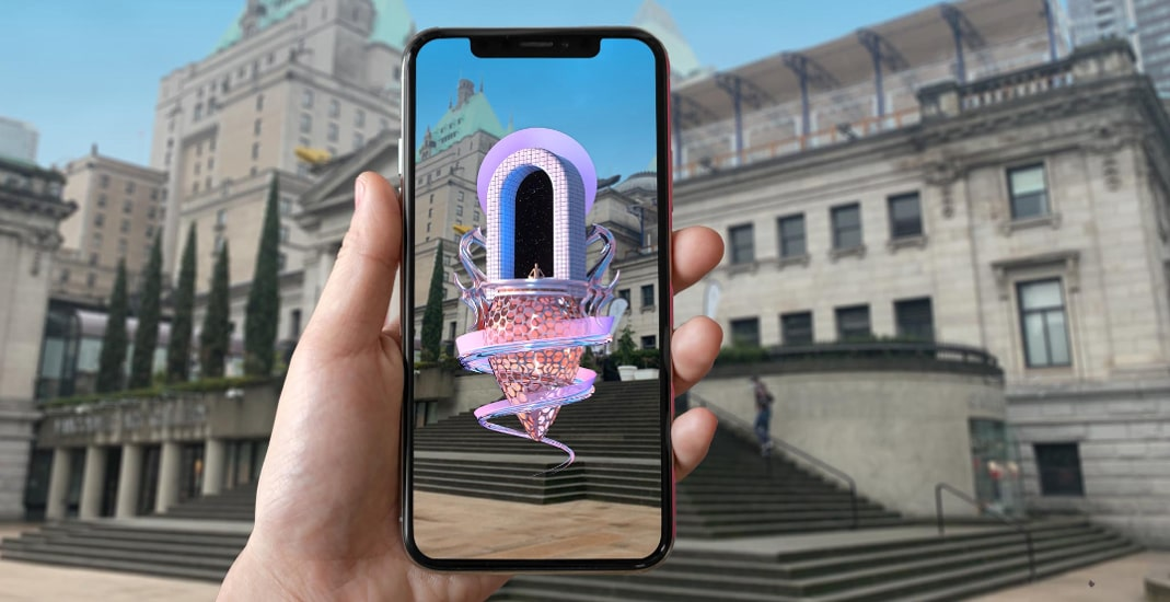 Vancouver Mural Festival Winter Arts transforms public spaces into Augmented Reality galleries