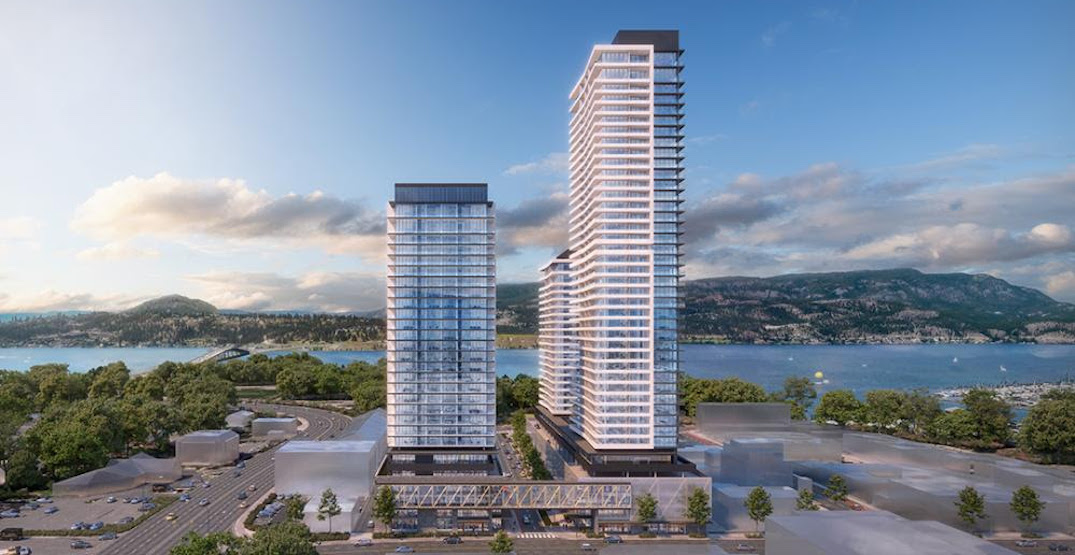 Downtown Kelowna redevelopment with towers up to 42 storeys receives approval