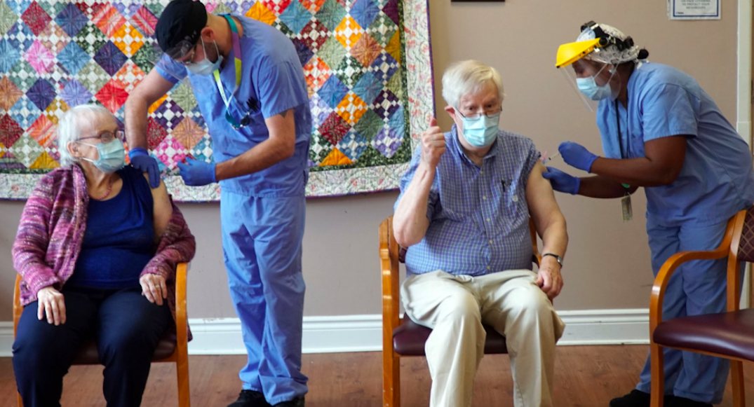 Ontario aims to vaccinate all long-term care homes in hotspots by next week