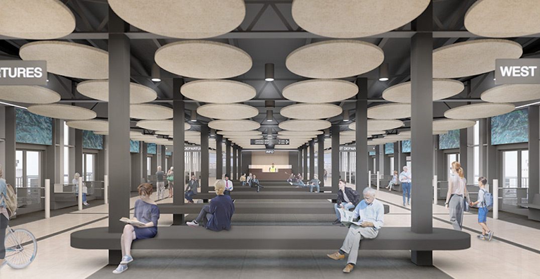 TransLink's concept for a transformation of the SeaBus terminals (RENDERINGS)