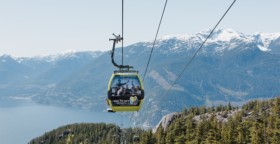 Sea to Sky Gondola has officially reopened to the public