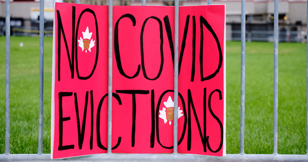 Ontario temporarily bans residential evictions