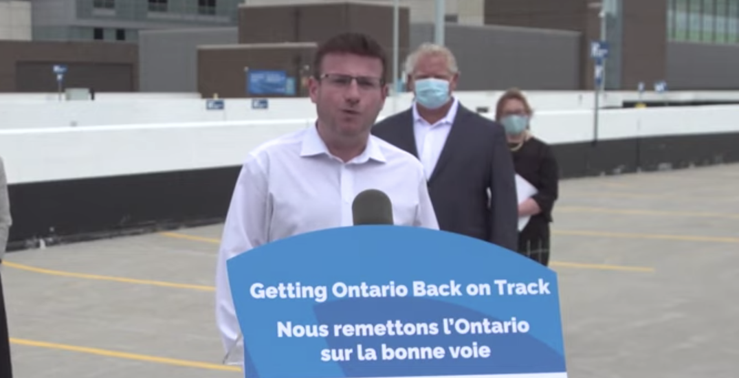 Toronto MPP removed from caucus after calling to end COVID-19 lockdown