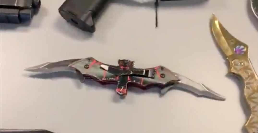 Bat knife surrendered to Vancouver police in DTES weapons haul