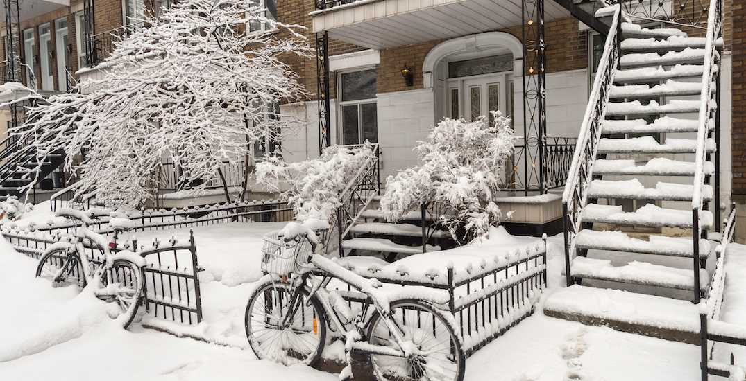 Here's what Montreal looks like after the first snowfall of the new year (PHOTOS)