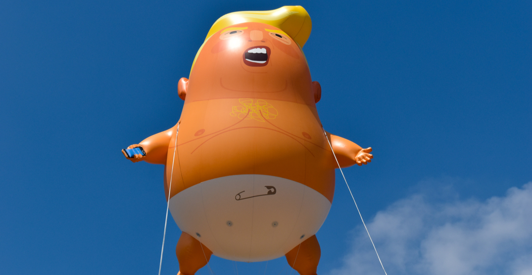 'Trump Baby' blimp to join Museum of London's protest collection