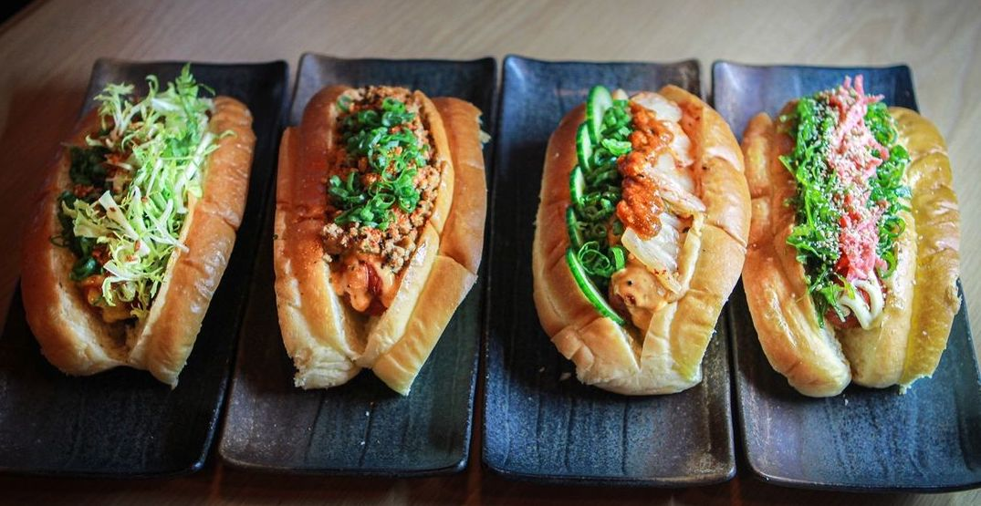Try delicious Japanese hot dogs at this doggerie in Portland