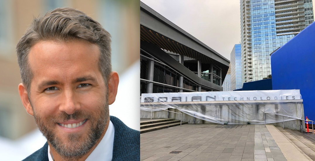 Jack Poole Plaza transformed for upcoming Ryan Reynolds movie (PHOTOS)