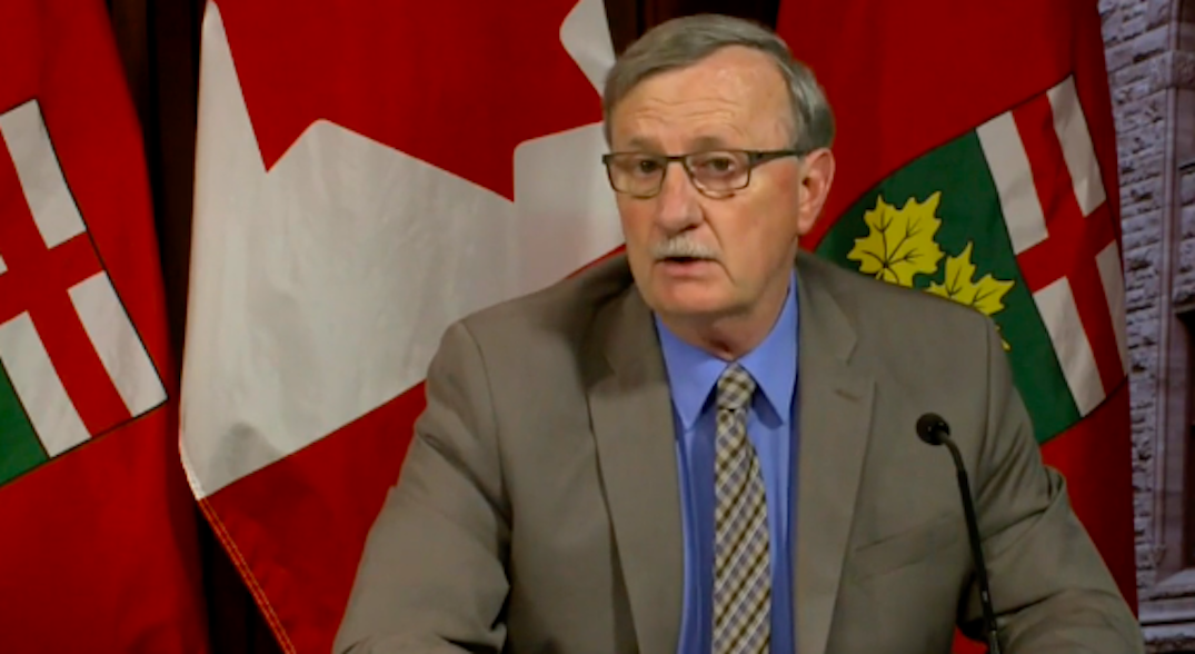 Ontario reporting fewer COVID-19 cases than originally projected